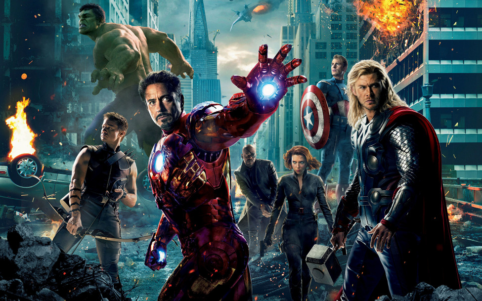 // The Avengers didn't start working together right away. It took some time.